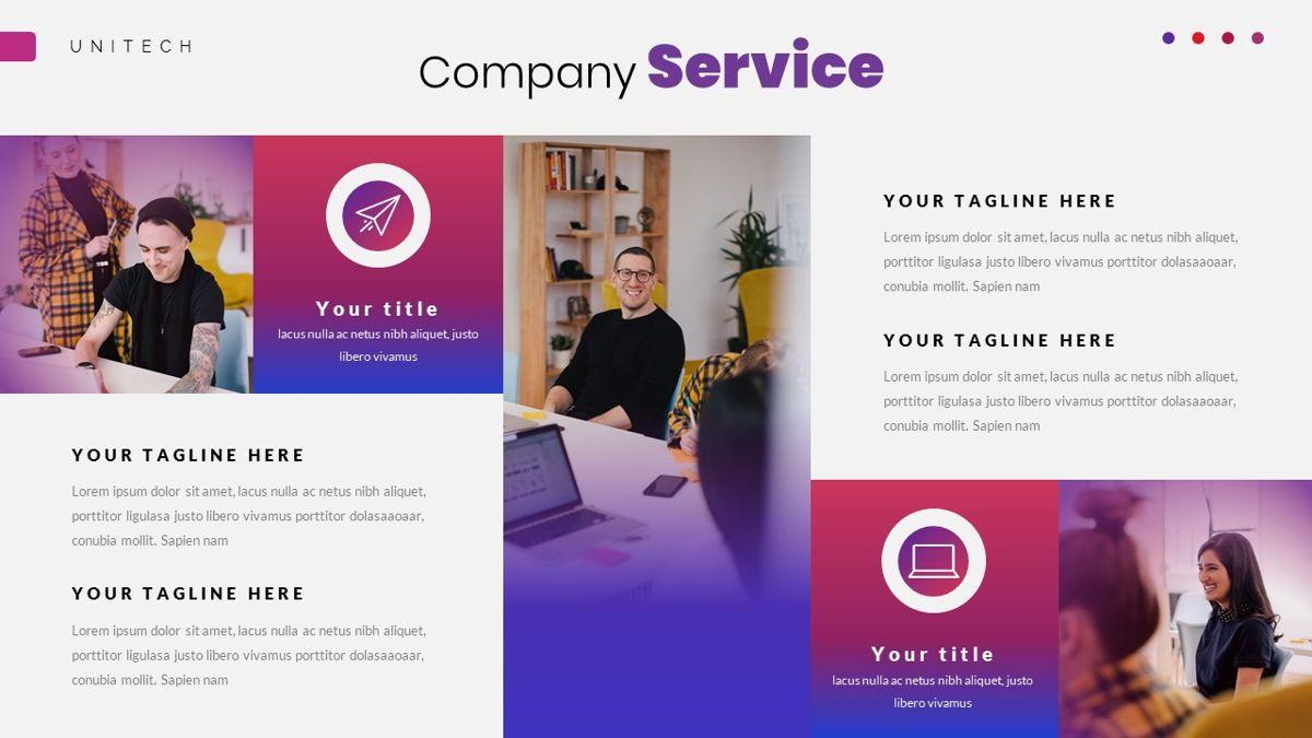 Unitech - Creative Business Google Slides Template, Slide 18, 05949, Business Models — PoweredTemplate.com