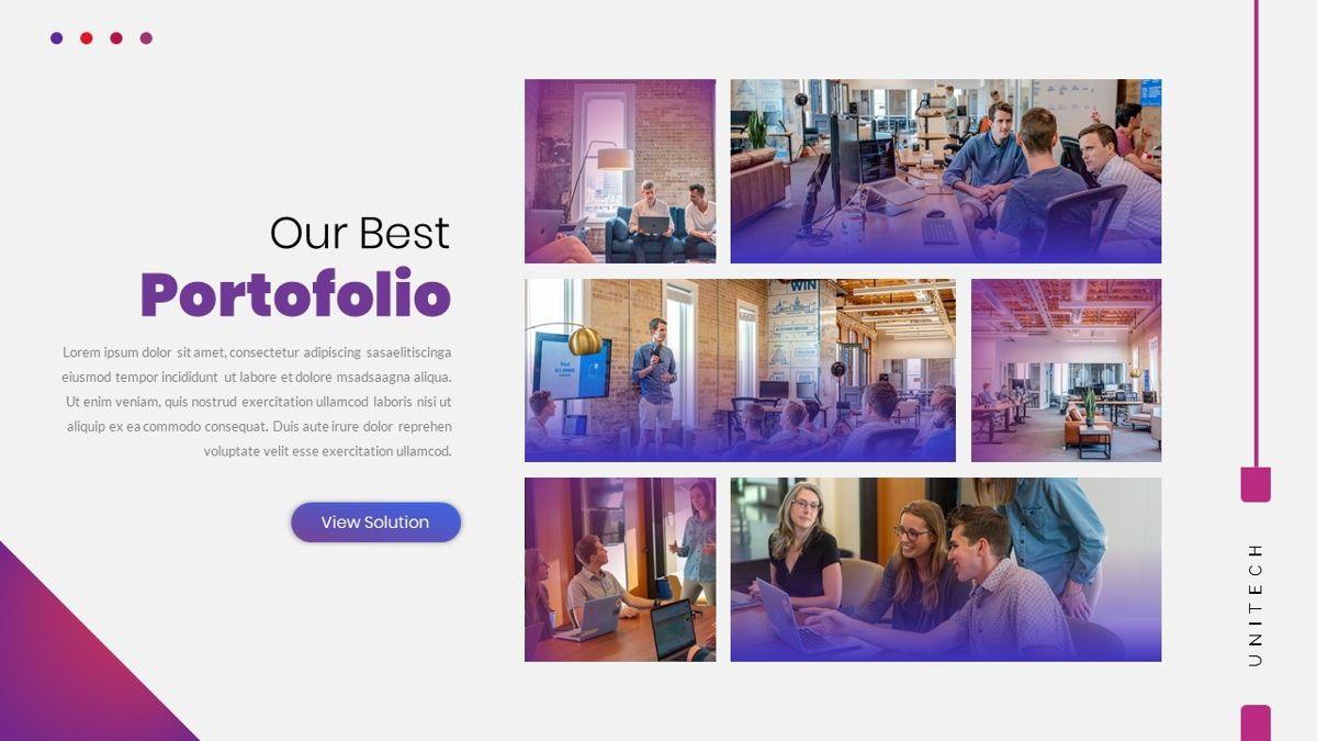 Unitech - Creative Business Google Slides Template, Slide 20, 05949, Business Models — PoweredTemplate.com