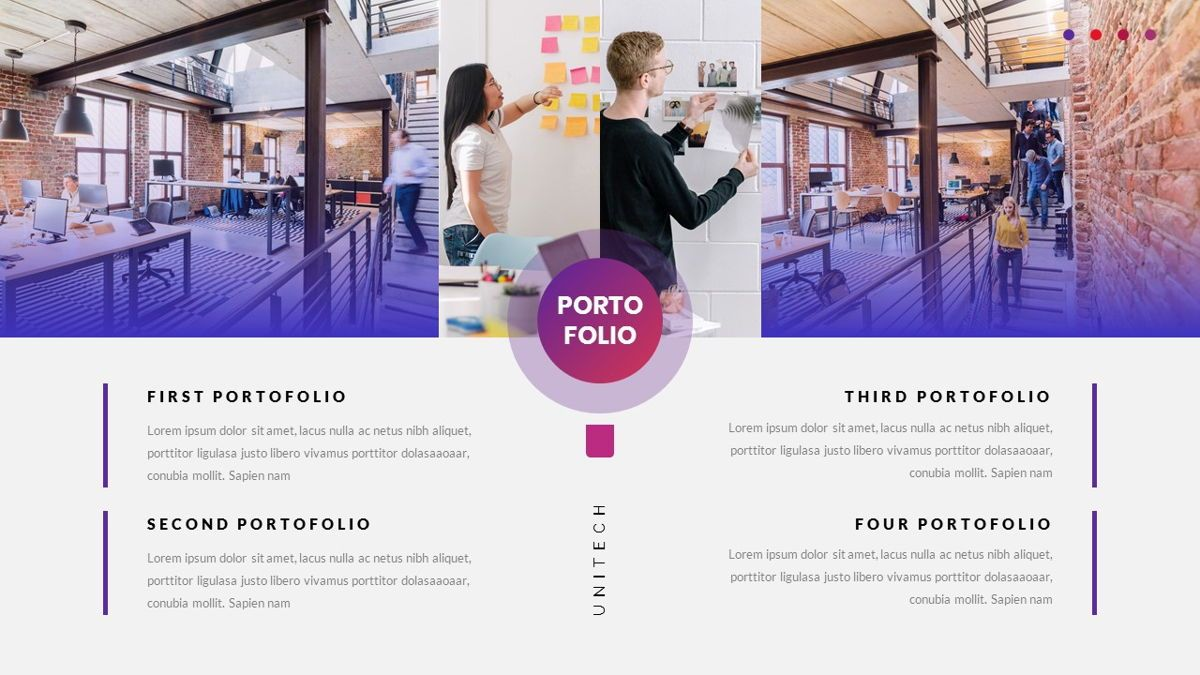 Unitech - Creative Business Google Slides Template, Slide 23, 05949, Business Models — PoweredTemplate.com