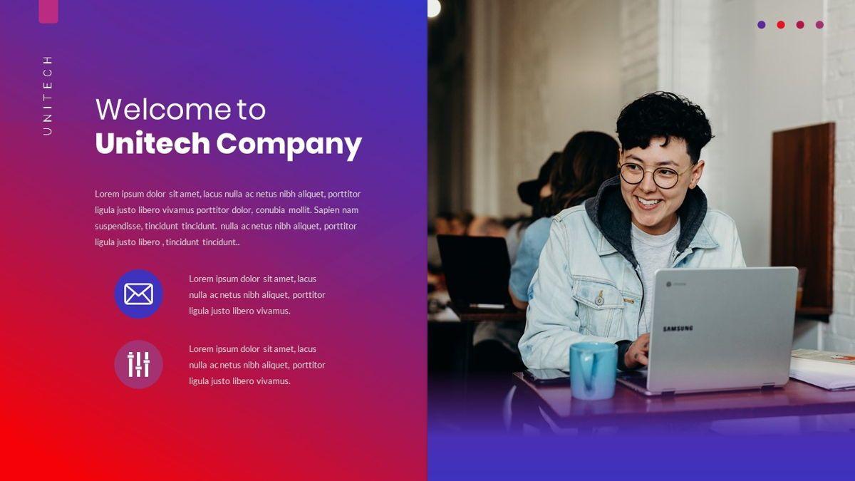 Unitech - Creative Business Google Slides Template, Slide 6, 05949, Business Models — PoweredTemplate.com