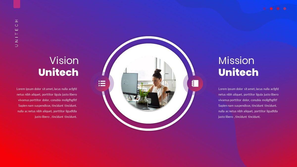 Unitech - Creative Business Google Slides Template, Slide 8, 05949, Business Models — PoweredTemplate.com