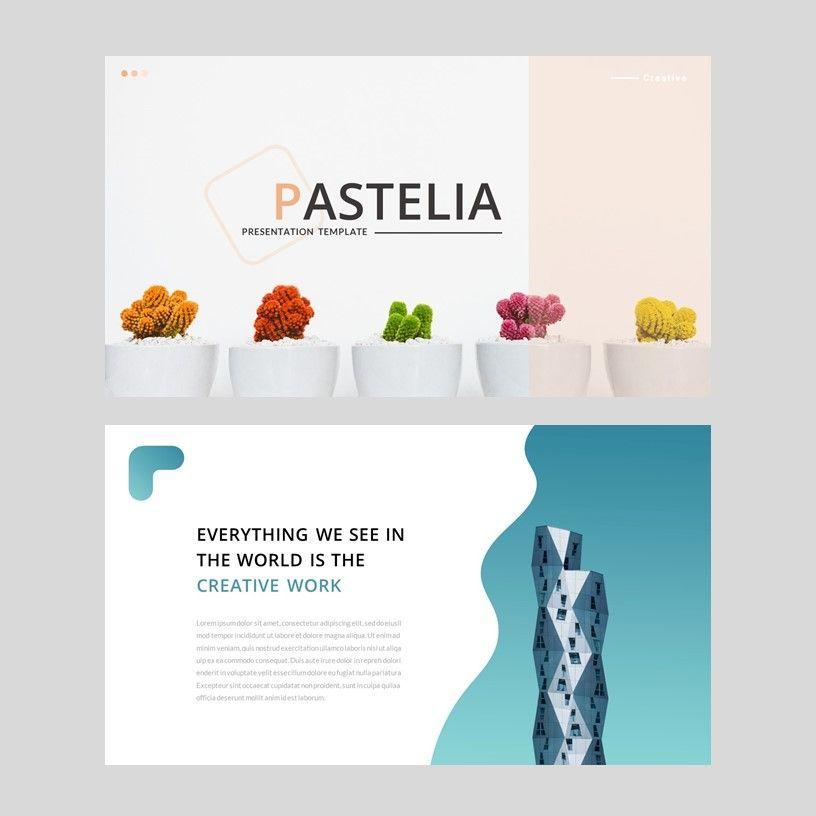 Pastelia - Google Slides Template, Slide 2, 05951, Presentation Templates — PoweredTemplate.com