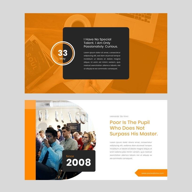 Kampuss - Google Slides Template, Slide 6, 05952, Presentation Templates — PoweredTemplate.com