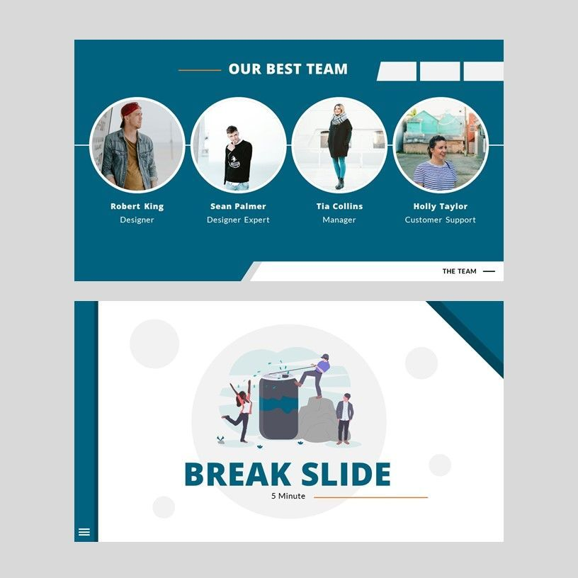 Inspired - Google Slides Template, Slide 14, 05953, Presentation Templates — PoweredTemplate.com