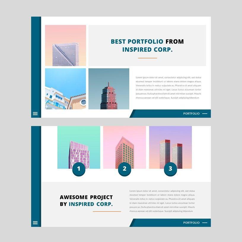 Inspired - Google Slides Template, Slide 9, 05953, Presentation Templates — PoweredTemplate.com