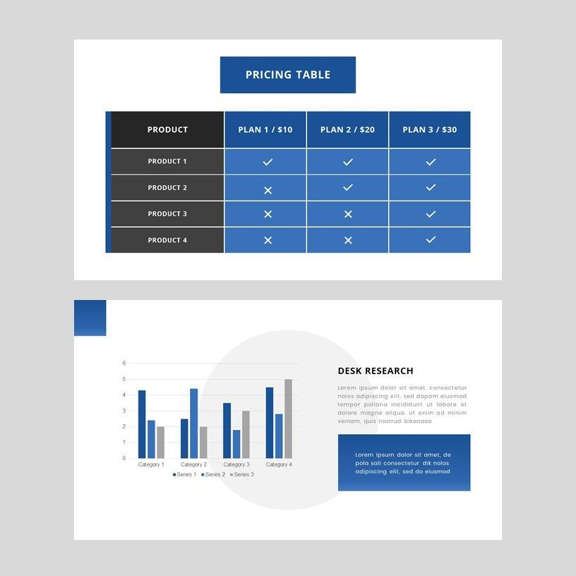 Gradi - Google Slides Template, Slide 10, 05955, Presentation Templates — PoweredTemplate.com