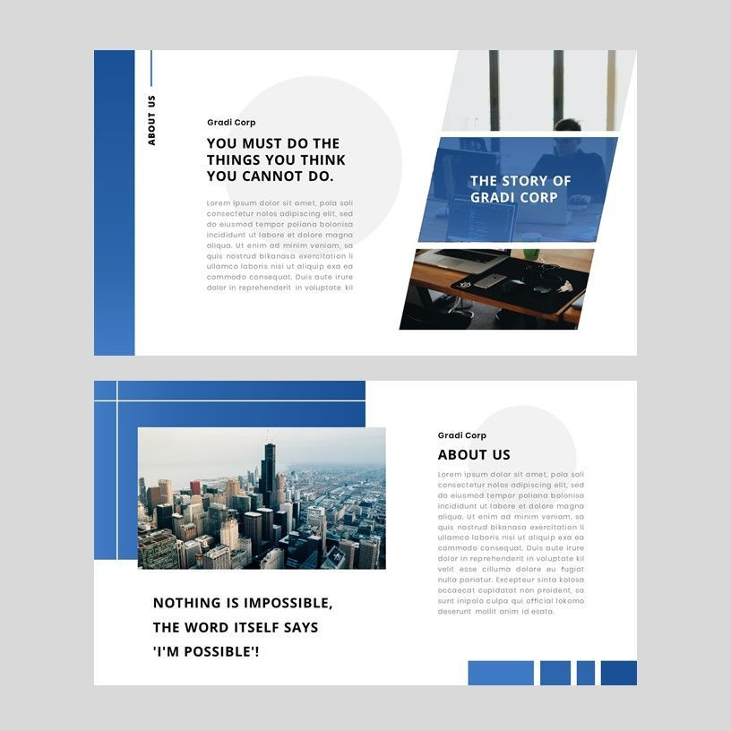 Gradi - Google Slides Template, Slide 11, 05955, Presentation Templates — PoweredTemplate.com