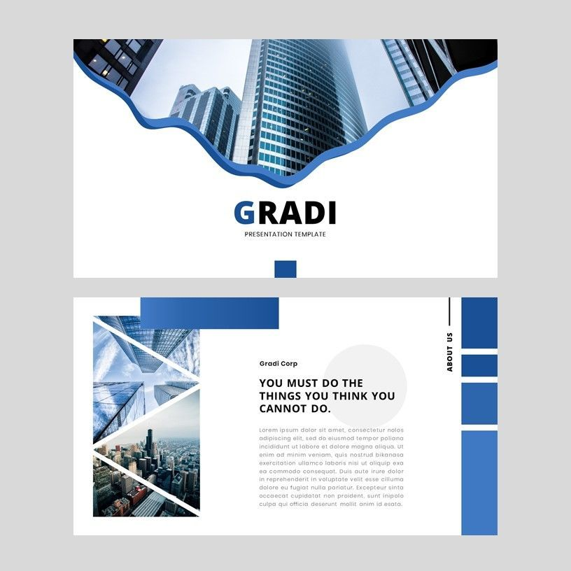 Gradi - Google Slides Template, Slide 2, 05955, Presentation Templates — PoweredTemplate.com