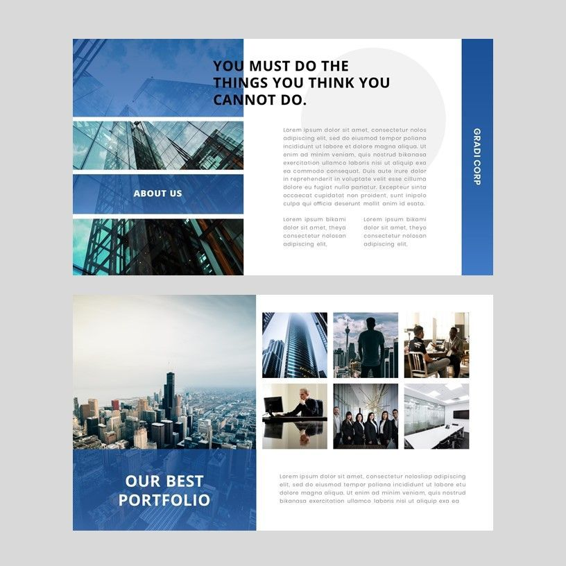 Gradi - Google Slides Template, Slide 5, 05955, Presentation Templates — PoweredTemplate.com