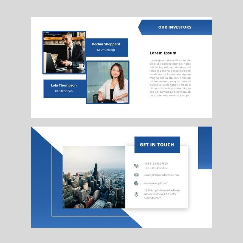 Gradi - Google Slides Template, Slide 8, 05955, Presentation Templates — PoweredTemplate.com
