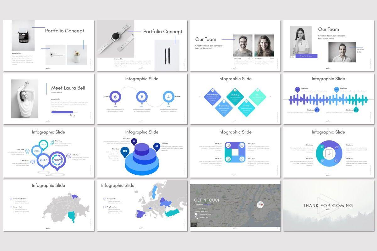 Buck - Powerpoint Template, Slide 3, 05959, Presentation Templates — PoweredTemplate.com