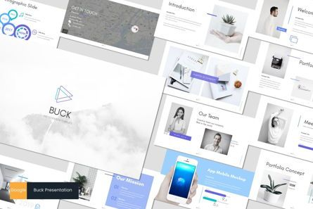 Presentation Templates: Buck - Google Slides Template #05960
