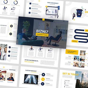Presentation Templates: Bizniz - Business Google Slides Template #05967