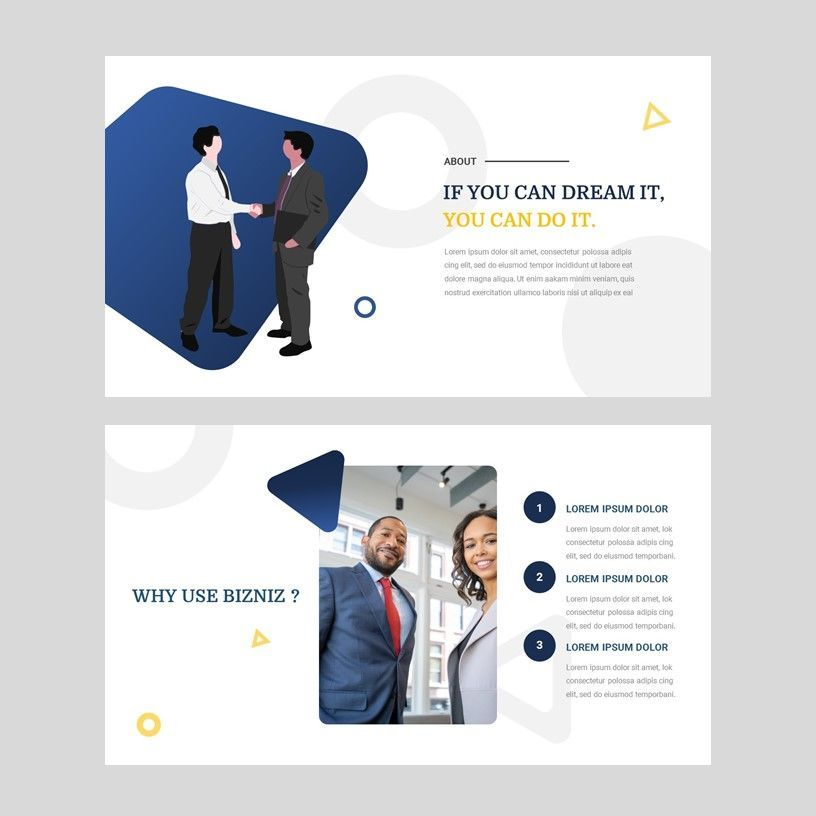 Bizniz - Business Google Slides Template, Slide 3, 05967, Presentation Templates — PoweredTemplate.com