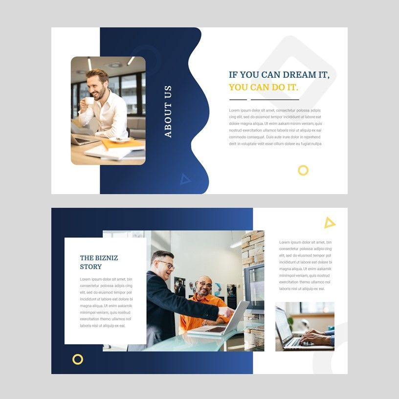 Bizniz - Business Google Slides Template, Slide 4, 05967, Presentation Templates — PoweredTemplate.com