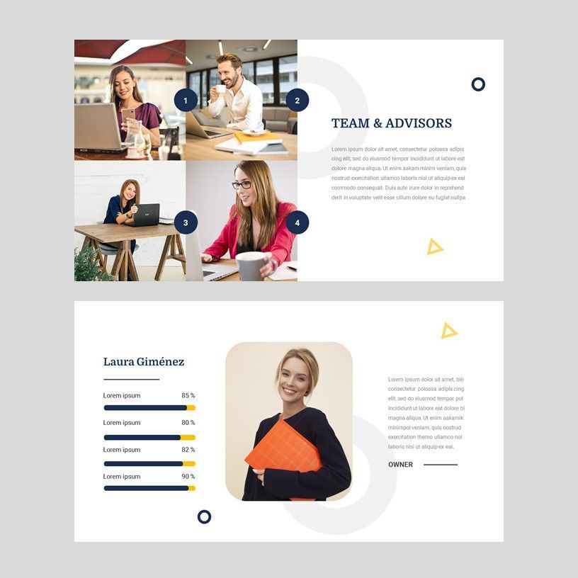 Bizniz - Business Google Slides Template, Slide 7, 05967, Presentation Templates — PoweredTemplate.com