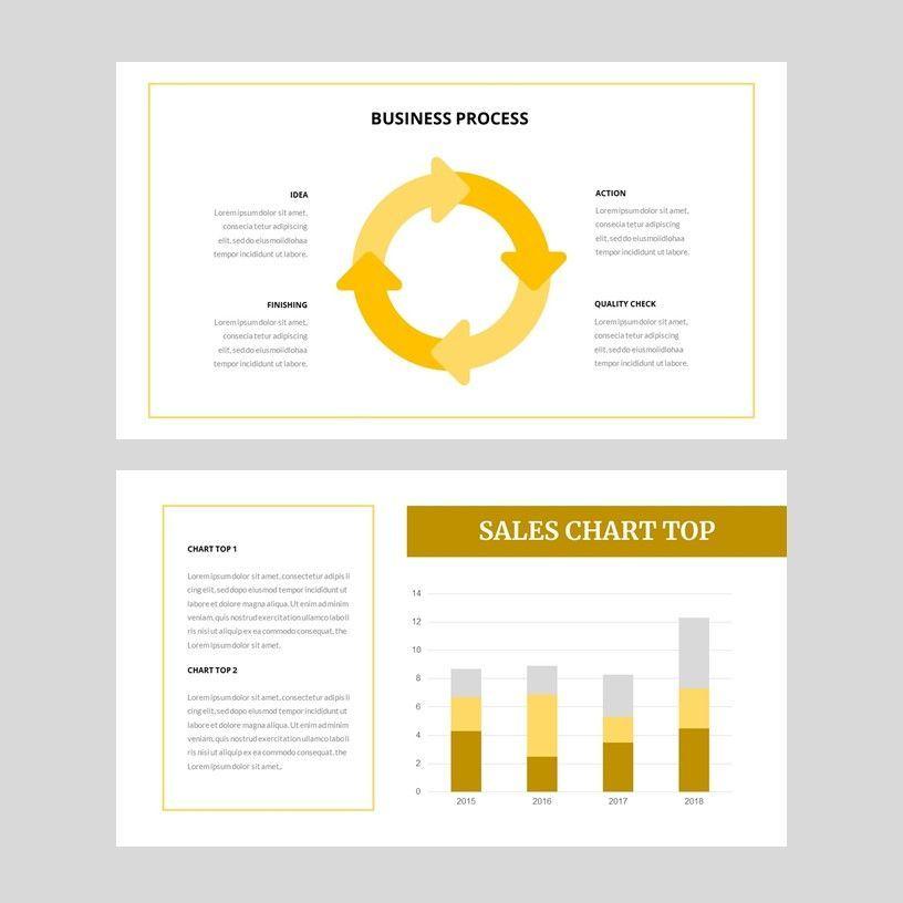 Yela - Creative Google Slide Template, Slide 10, 05970, Presentation Templates — PoweredTemplate.com