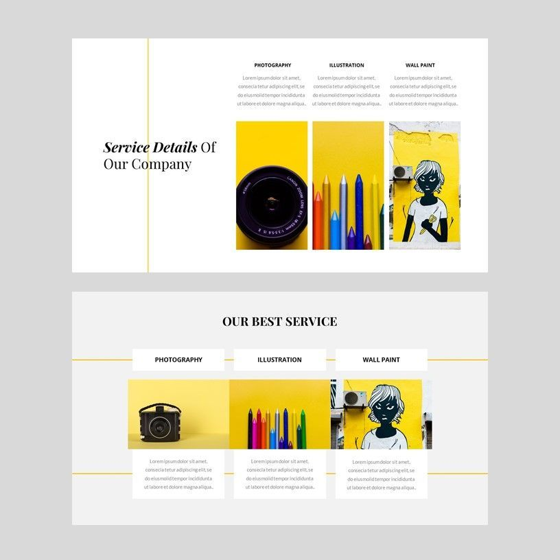 Yela - Creative Google Slide Template, Slide 5, 05970, Presentation Templates — PoweredTemplate.com