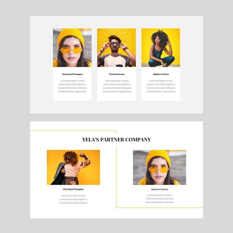 Yela - Creative Google Slide Template, Slide 6, 05970, Presentation Templates — PoweredTemplate.com
