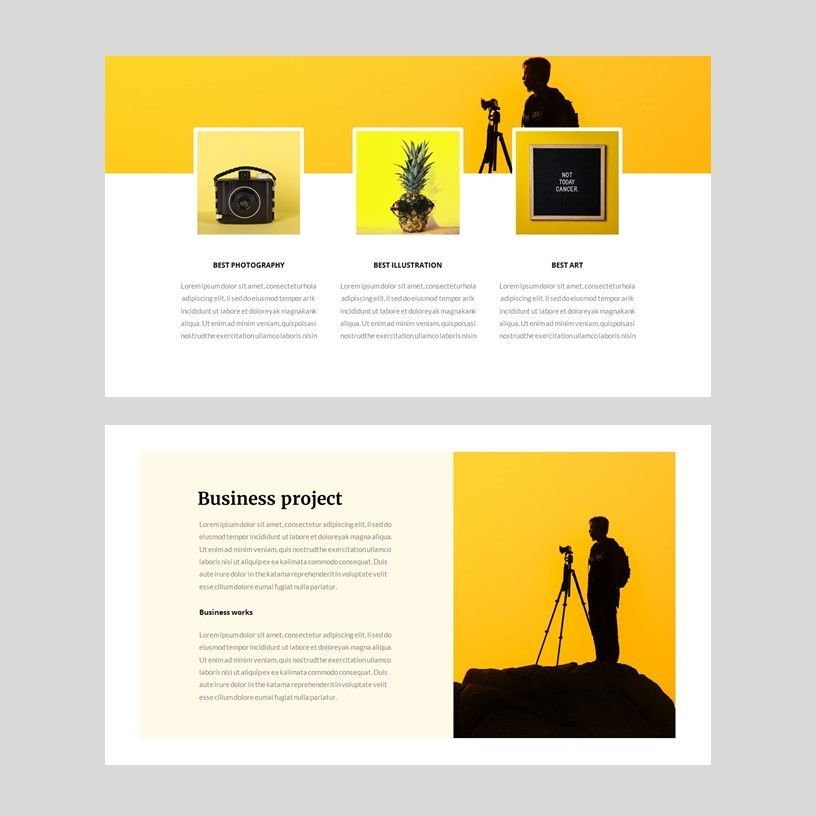 Yela - Creative Google Slide Template, Slide 8, 05970, Presentation Templates — PoweredTemplate.com
