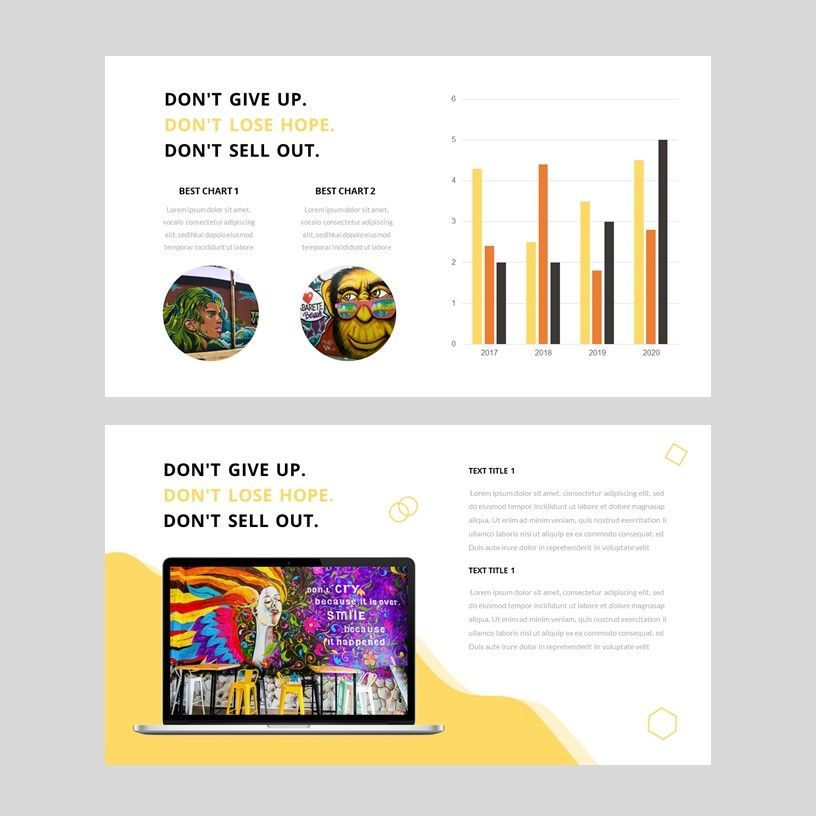 Popin - Creative Google Slide Template, Slide 10, 05972, Presentation Templates — PoweredTemplate.com