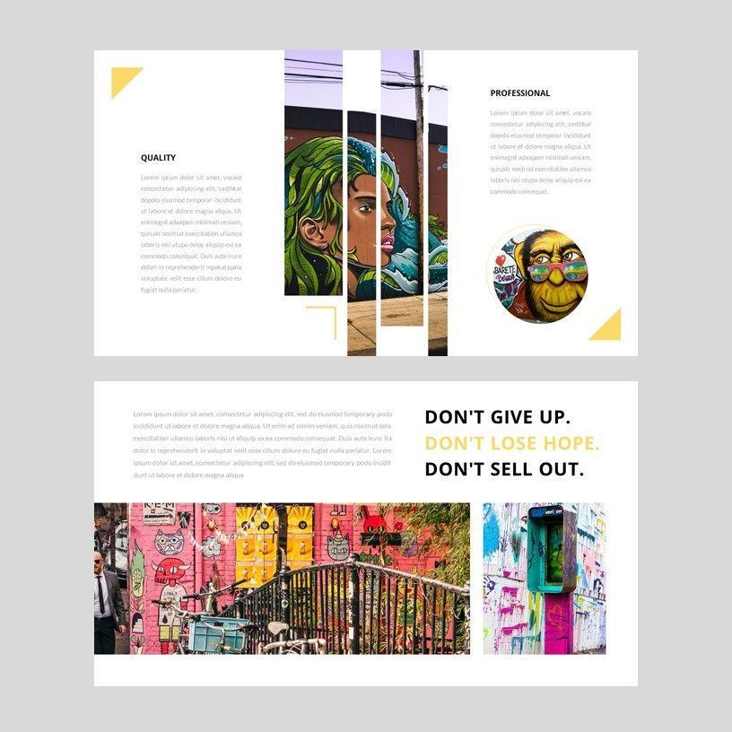 Popin - Creative Google Slide Template, Slide 3, 05972, Presentation Templates — PoweredTemplate.com