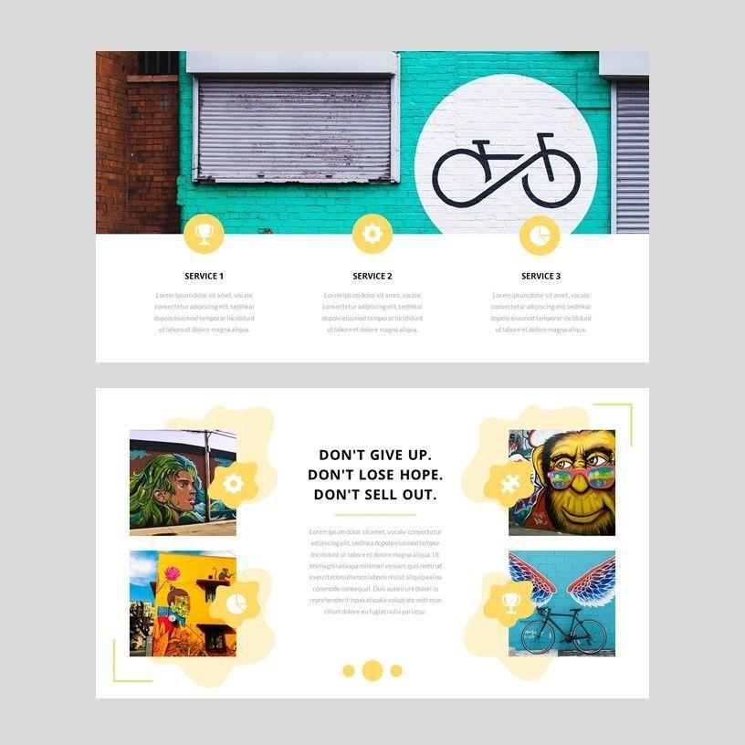 Popin - Creative Google Slide Template, Slide 7, 05972, Presentation Templates — PoweredTemplate.com
