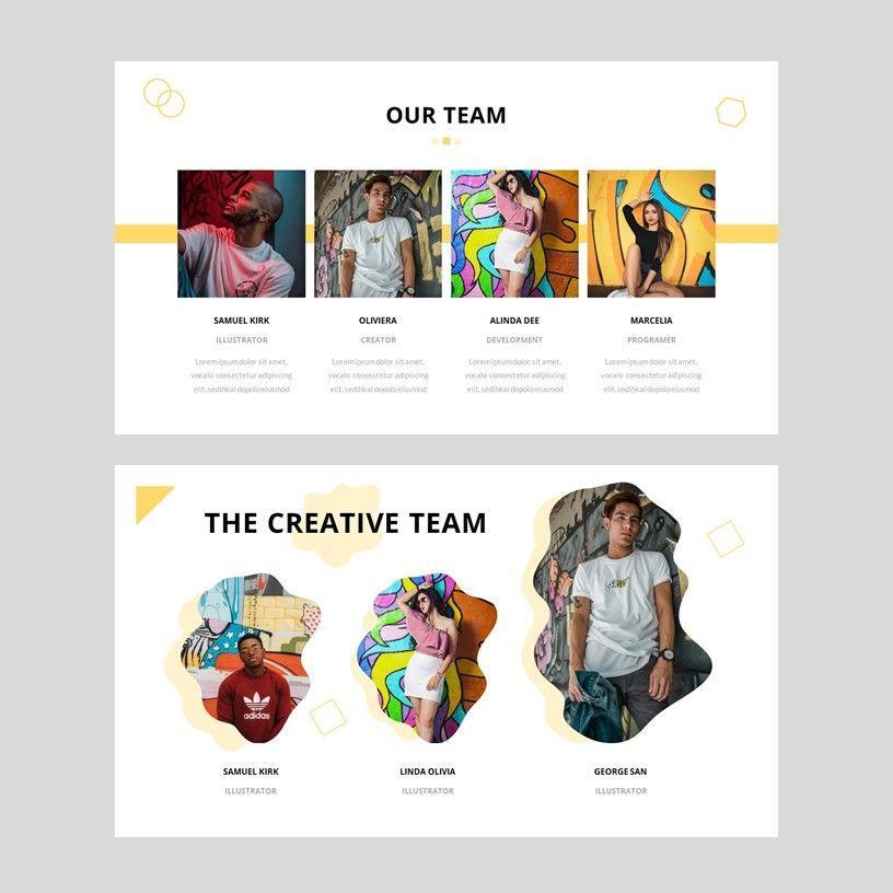 Popin - Creative Google Slide Template, Slide 9, 05972, Presentation Templates — PoweredTemplate.com