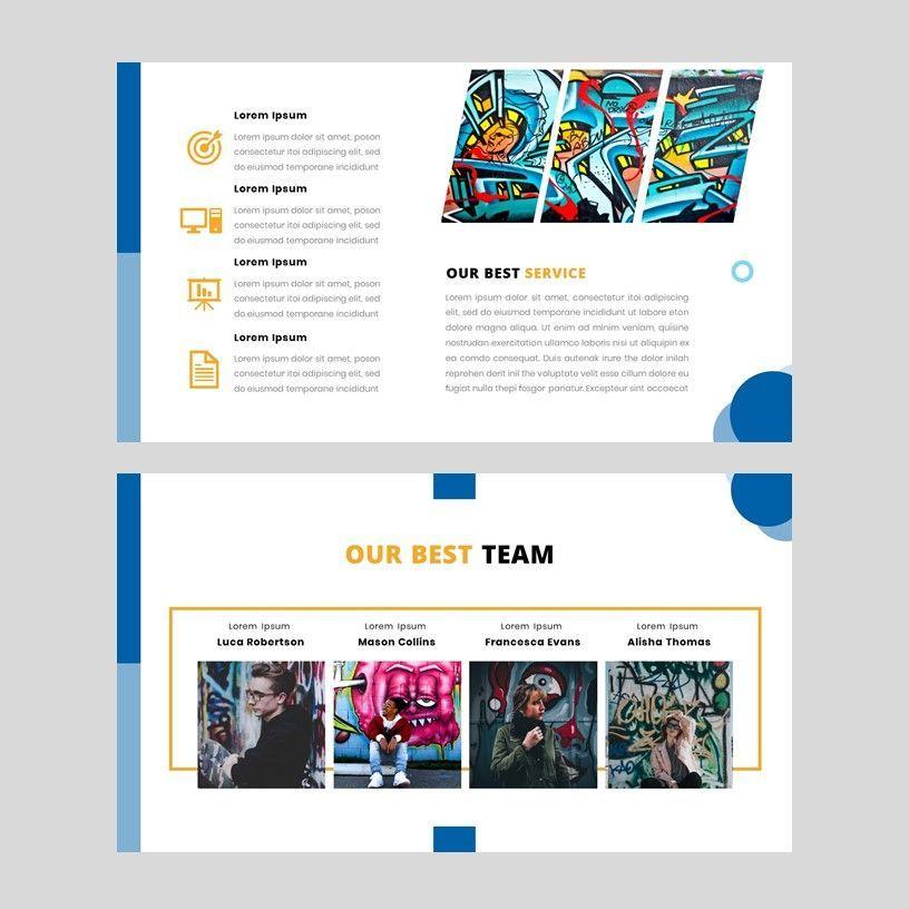 Aviana - Creative Google Slide Template, Slide 6, 05975, Presentation Templates — PoweredTemplate.com