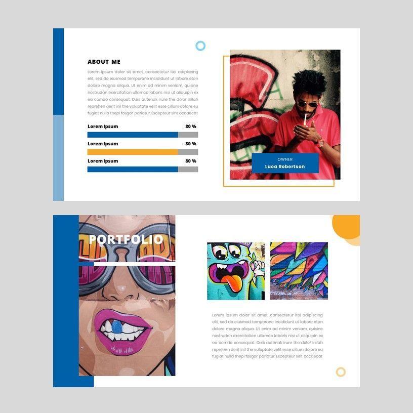 Aviana - Creative Google Slide Template, Slide 7, 05975, Presentation Templates — PoweredTemplate.com