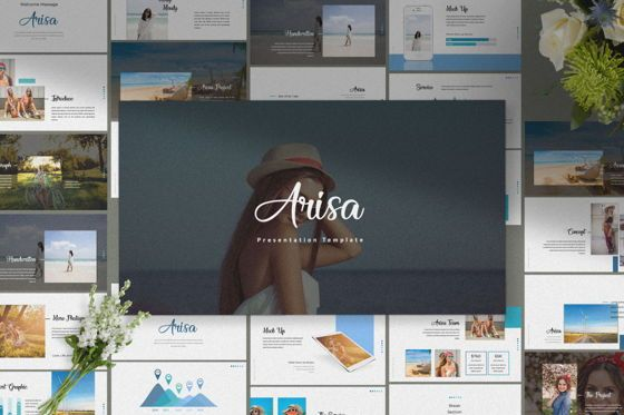 Presentation Templates: Arisa Powerpoint Template #05976