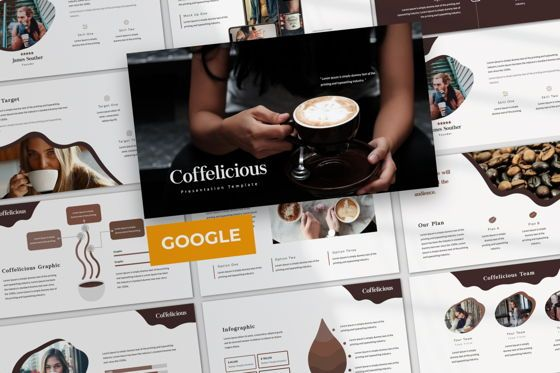 Presentation Templates: Coffelicious Google Slide #05978