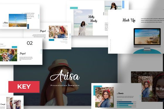 Presentation Templates: Arisa Creative Keynote #05979