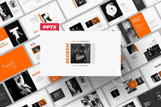 Presentation Templates: Redeem Creative Powerpoint #05981