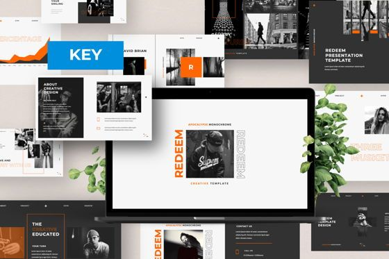 Presentation Templates: Redeem Creative Keynote #05982