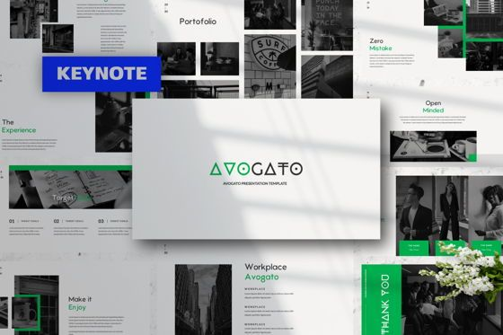 Presentation Templates: Avogato Creative Keynote #05985