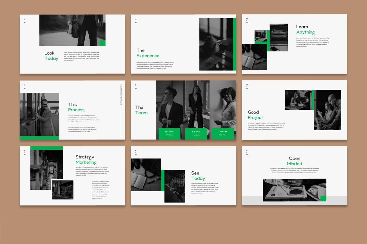 Avogato Creative Google Slide, Slide 3, 05986, Presentation Templates — PoweredTemplate.com