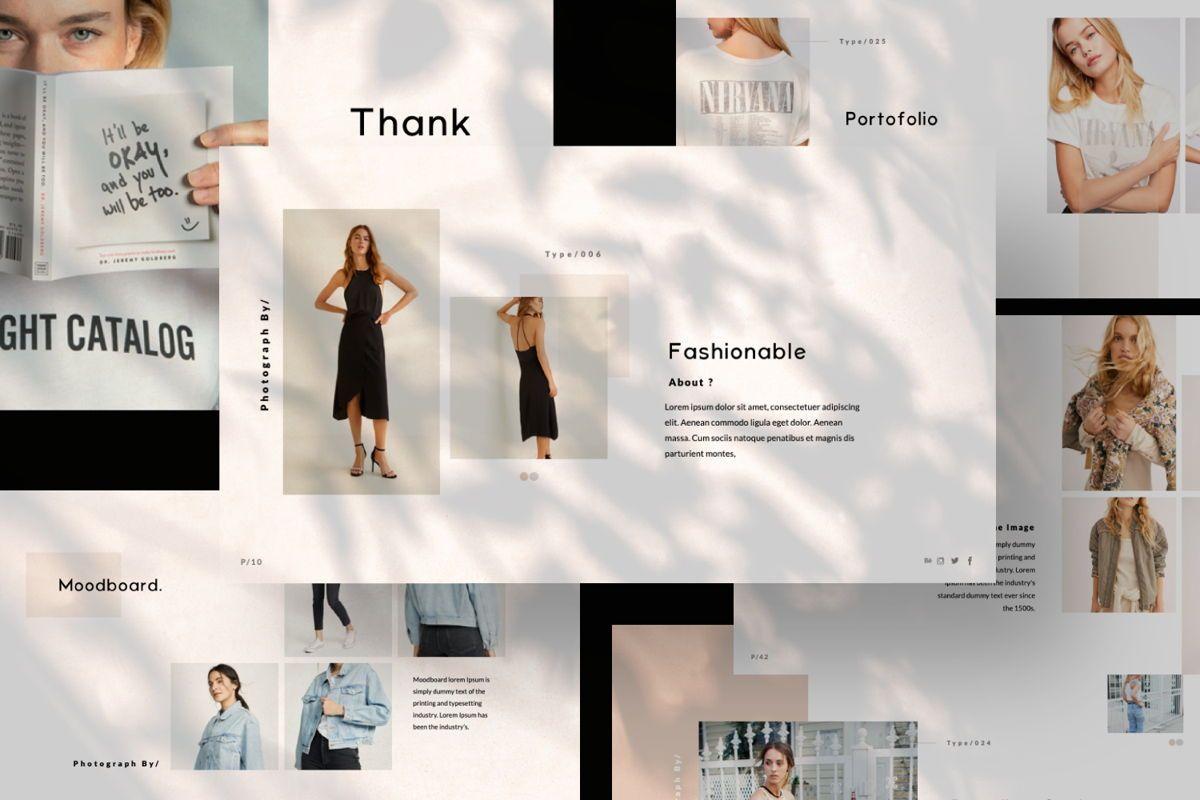 Cantique Brand Powerpoint, Slide 8, 05987, Presentation Templates — PoweredTemplate.com