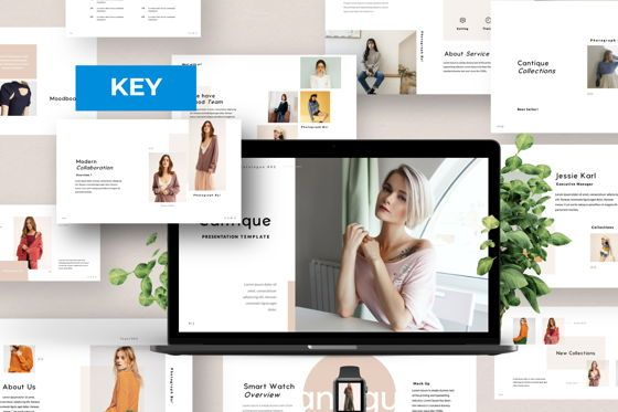 Presentation Templates: Cantique Brand Keynote #05988