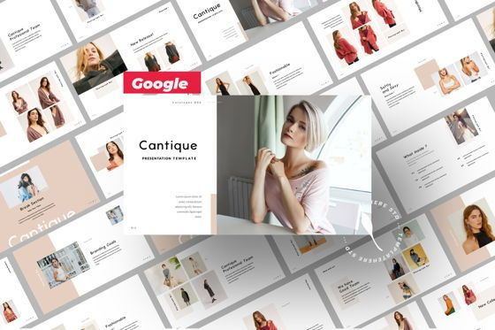 Presentation Templates: Cantique Brand Google Slide #05989