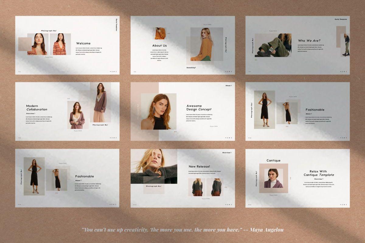 Cantique Brand Google Slide, Slide 2, 05989, Presentation Templates — PoweredTemplate.com
