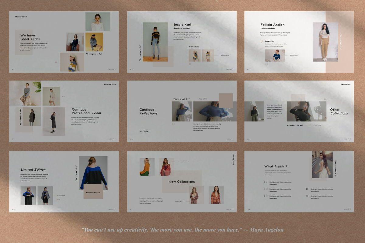 Cantique Brand Google Slide, Slide 3, 05989, Presentation Templates — PoweredTemplate.com