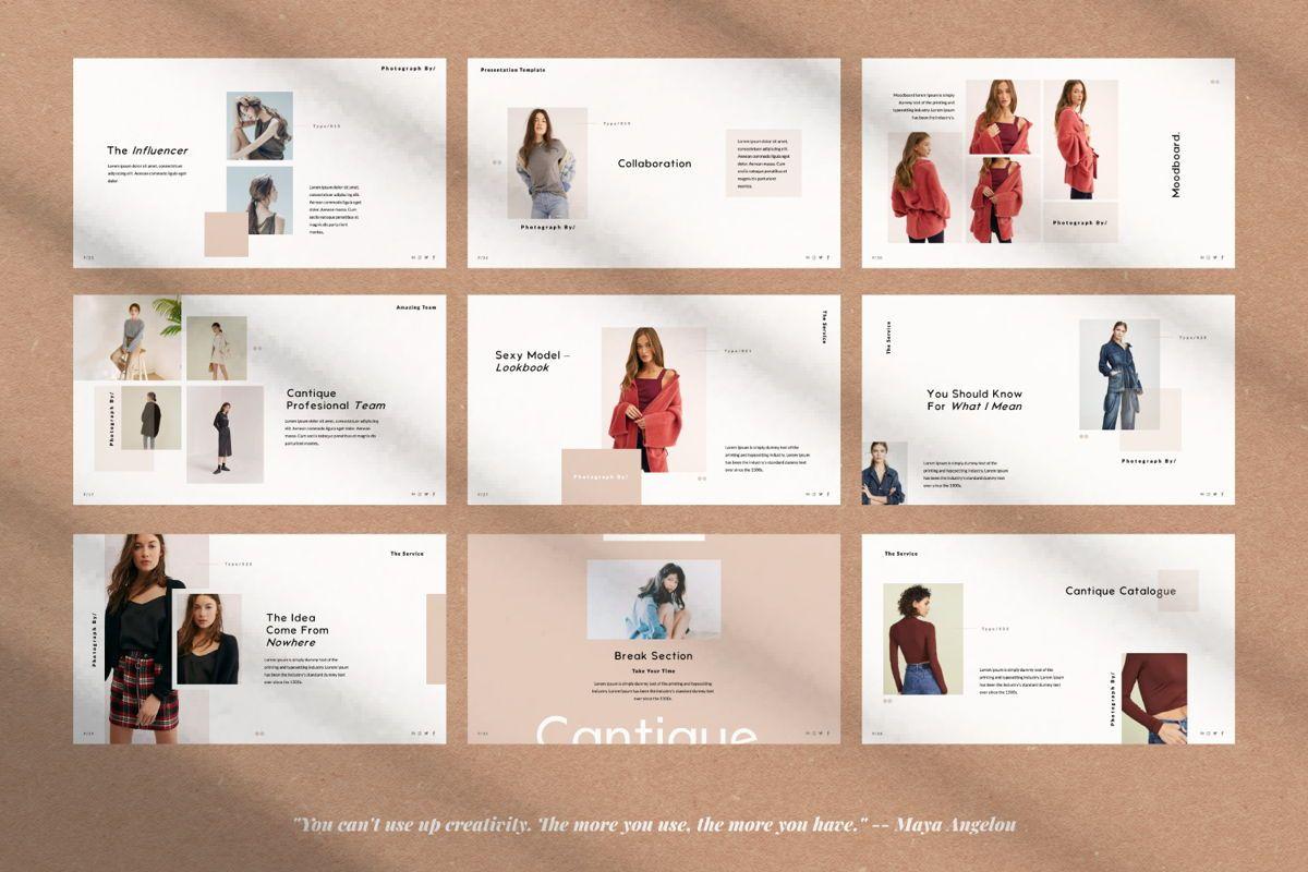 Cantique Brand Google Slide, Slide 4, 05989, Presentation Templates — PoweredTemplate.com