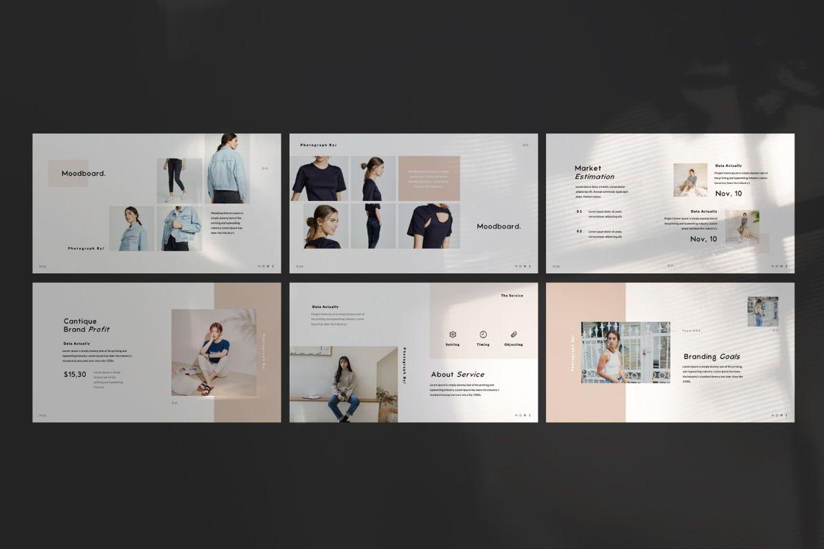 Cantique Brand Google Slide, Slide 5, 05989, Presentation Templates — PoweredTemplate.com