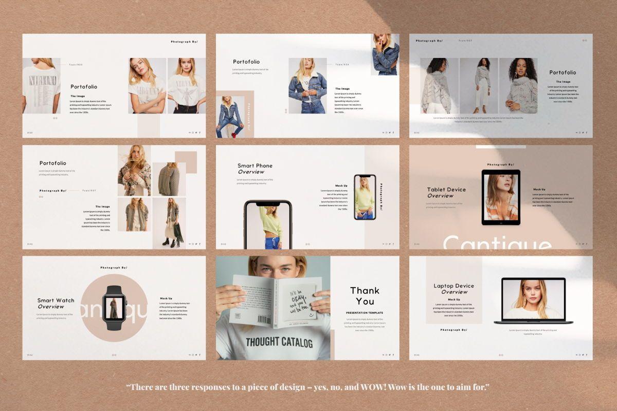 Cantique Brand Google Slide, Slide 6, 05989, Presentation Templates — PoweredTemplate.com