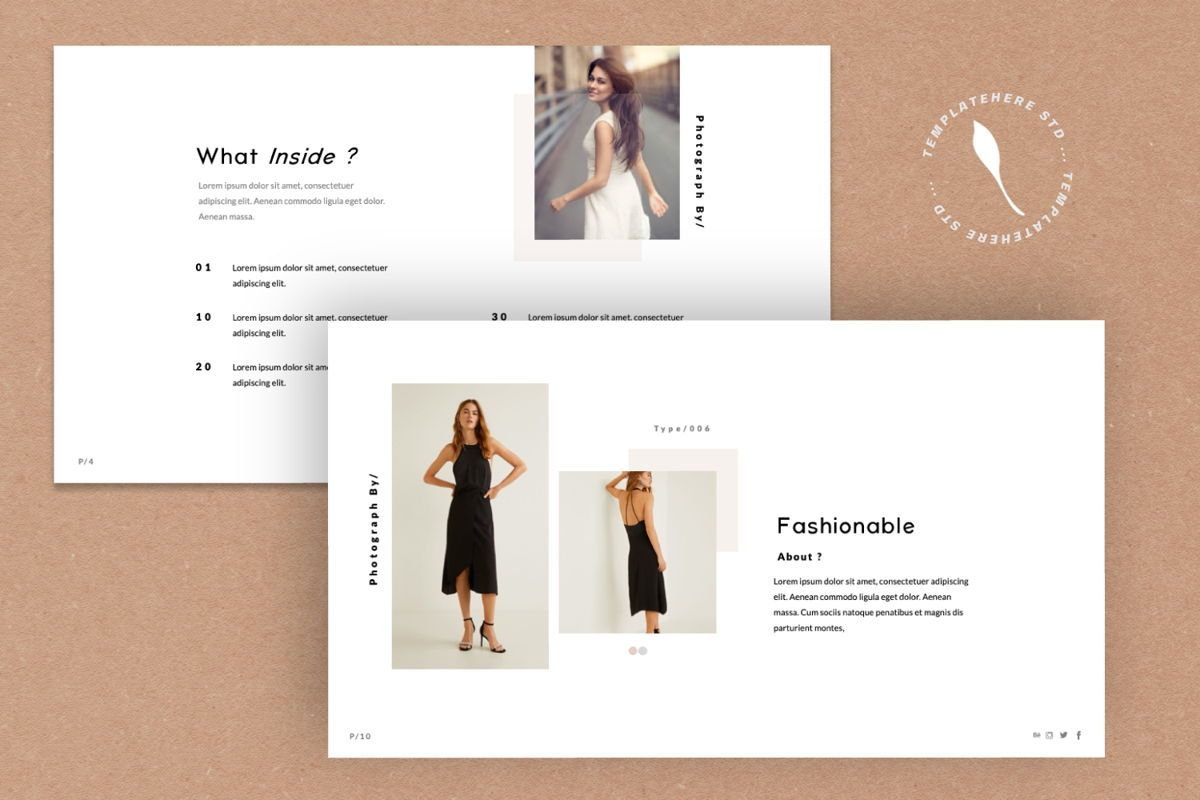 Cantique Brand Google Slide, Slide 7, 05989, Presentation Templates — PoweredTemplate.com