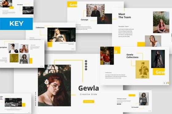 Presentation Templates: Gewla Creative Keynote #05991