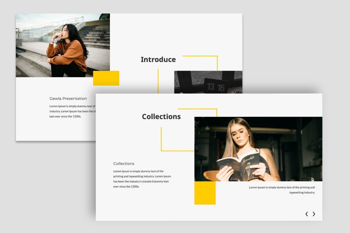 Gewla Creative Google Slide, Slide 6, 05992, Presentation Templates — PoweredTemplate.com