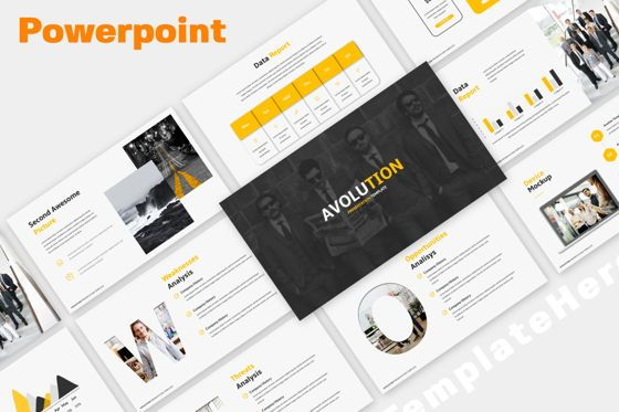 Presentation Templates: Avolution Creative Powerpoint #05993