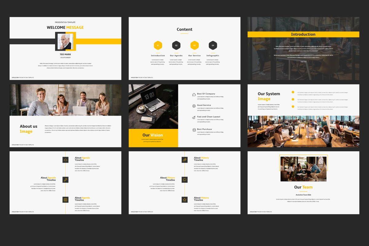 Avolution Creative Google Slide, Slide 2, 05994, Presentation Templates — PoweredTemplate.com